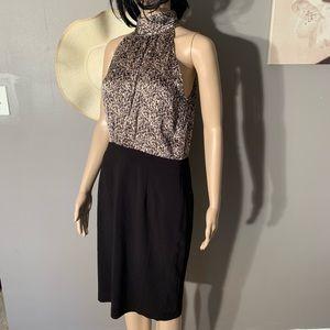 "Theme Size M High Neckline Dress Length 39"""